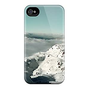 For Iphone 5/5s Tpu Phone Case Cover(alps Mountains France)