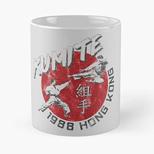 Kumite Kic - Morning Coffee Mug Ceramic Best Gift