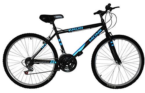 Bicicleta de Montaña con Propiedades Reflejantes, Modelo 'Kron Karbon', Rodada 26 18 Velocidades