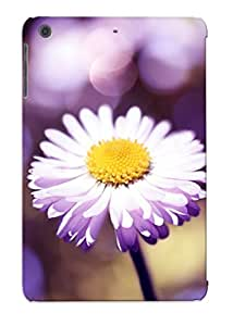 Pouchedgrate Scratch-free Phone Case For Ipad Mini/mini 2- Retail Packaging - Daisy