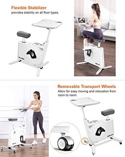 Ideer 09019 - Bicicleta de ejercicio magnética con escritorio ...