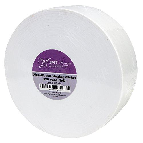 - JMT Beauty Non-woven Waxing Strips Roll, 3in. X 110 yds