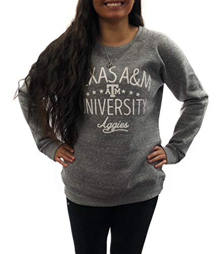 (Texas A&M Aggies Womens Apparel Light Weight Sweatshirt University Clothing)