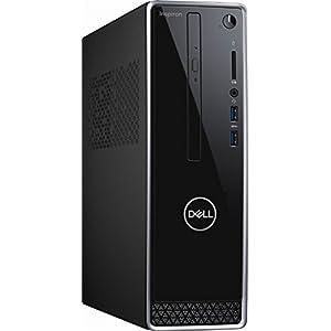 2018 NEWEST Dell Inspiron Mini Desktop, Intel Quad Core i3-8100 3.6GHz, 8GB DDR4 RAM, 1TB HDD, Intel HD Graphics 630, WiFi, Bluetooth, DVD-RW, USB 3.0, HDMI, VGA, Included Mouse & Keyboard, Windows 10