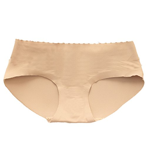 Zhhlaixing Low Waist Fake Buttocks Body Sculpture Body-shaped Briefs Calzoncillos Panties Nude