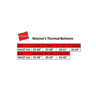 Hanes Women's Color Fusion Thermal Baselayer Pant at Women's Clothing store