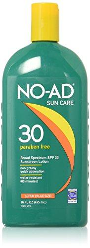 No Ad 30 Sunscreen