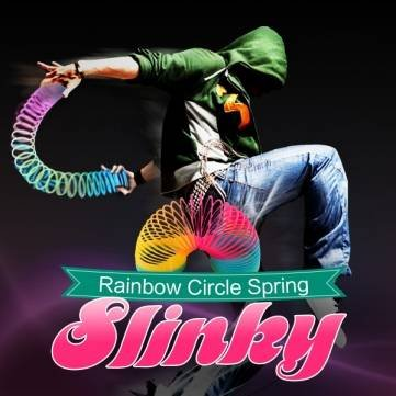 Navy Blue Slinky - 3