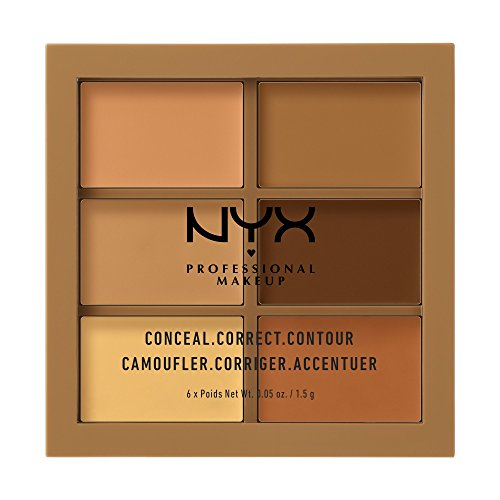 NYX PROFESSIONAL MAKEUP Conceal Correct Contour Palette, Deep, 0.05 Ounce