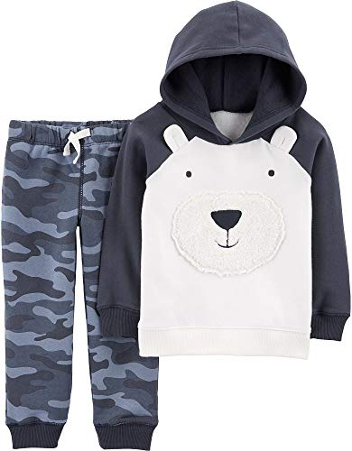 Carter's Baby and Toddler Boys' 2 Pc Top and Pant Sets (4T, - Pant Set Carters