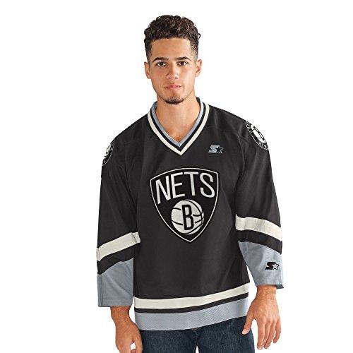 (STARTER Adult Men Legend Hockey Jersey, Black, X-Large)