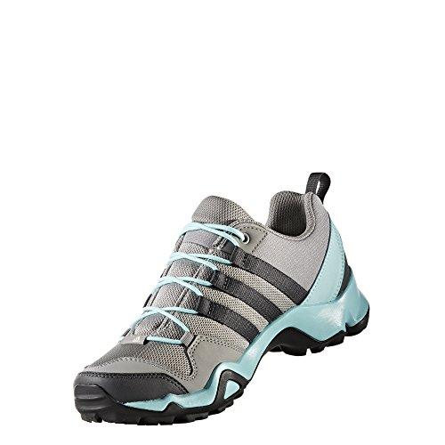 Scarpa Da Trekking Adidas Outdoor Terrex Ax2r - Donna Ch Solid Grigio / Dgh Solid Grey / Clear Aqua, 7.5