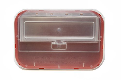 Oakridge Products 1 Gallon Sharps Container (24 Pack) Flip up lid Business bundle   Full case by OakRidge Products (Image #4)