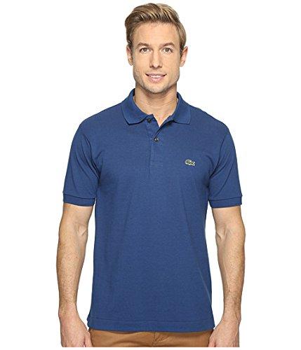 (ラコステ) LACOSTE メンズポロシャツ L1212 Classic Pique Polo Shirt [並行輸入品] B071ZYPWDD 2 (XS)|Estate Blue Estate Blue 2 (XS)