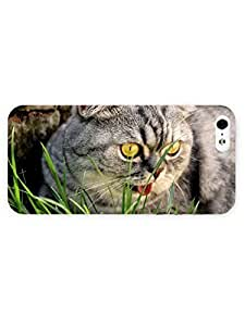 3d Full Wrap Case For Htc One M9 Cover Animal Cat In The Grass76