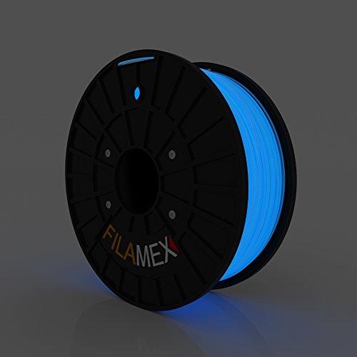 Filamex-PLA-Filament-1kg22lbs-175mm-for-3D-printer-Glow-in-the-Dark-Blue