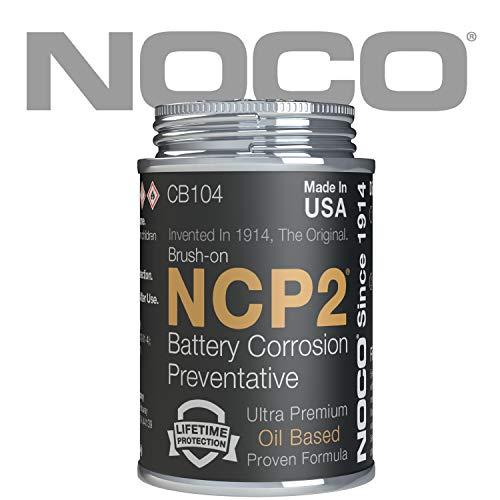 NOCO NCP2 CB104S 4 Oz Brush-On Oil Based Battery Corrosion Preventative