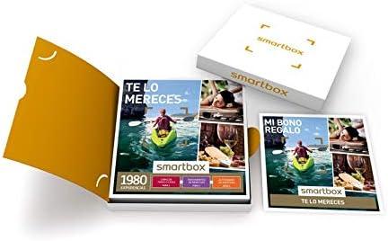 Smartbox - Caja Regalo - TE LO MERECES - 1980 experiencias gastronómicas, tratamientos de Bienestar o Actividades de Aventura: Amazon.es: Deportes y aire libre