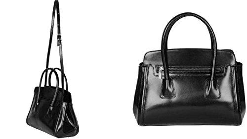 luna femme elegant à Plusieurs luna Coloris femme marque Noir cuir cuir cuir cuir sac sac sac main sac chloly Italie sac sac luna Luna cuir vegetal cuir ZxqOOXH