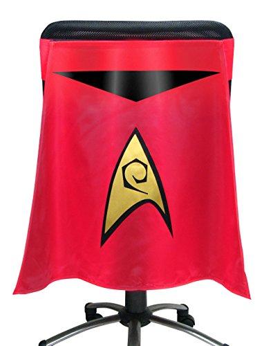 Entertainment Earth Star Trek The Original Series Red Uniform Chair Capes
