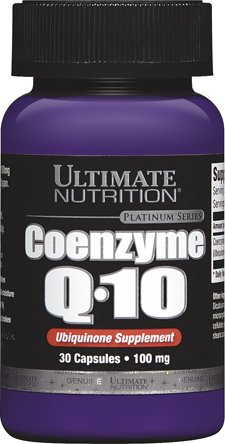 Q10 Sports Nutrition - Ultimate Nutrition Coenzyme Q10 - High Intensity Workout Supplement - Produce Optimum Oxygen (30 Capsules)