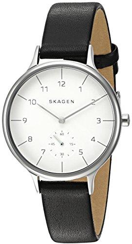 Skagen Women's SKW2415 Anita Black Leather Watch