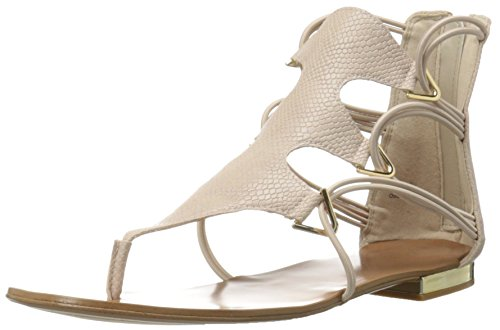 Aldo Women's Barbiana Gladiator Sandal, Bone, 7.5 B US