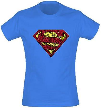 Superman – Camiseta de Girl Shatter (en S): Amazon.es: Deportes y aire libre