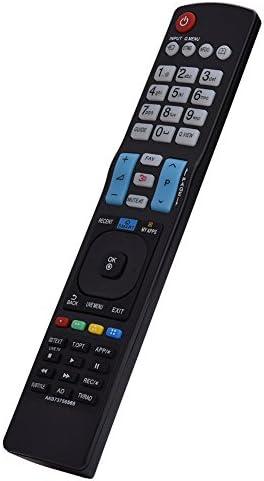 FOSA Mando a Distancia Teclado AKB73756565, Control Remoto de Reemplazo para LG Smart LED LCD TV