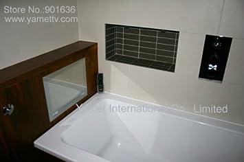 15,6 Spiegel TV Spiegel im Badezimmer TV Wasserdicht: Amazon ...