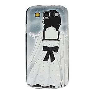 TOPMM Lonely Angle Pattern Hard Case for Samsung Galaxy S3 I9300