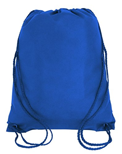 - Pack of 12 Budget Friendly Well Made Non Woven Drawstring Bags 13.5