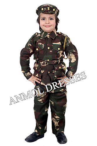 ANMOL DRESSES Boys Army Dress Kargil Print (XX-Small, Green) (B079SWQ2V2) Amazon Price History, Amazon Price Tracker