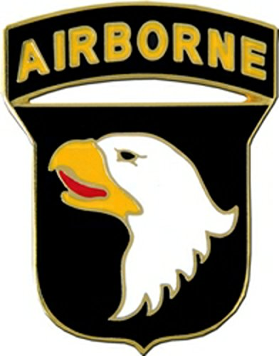 US Army 101st Airborne Division Hat or Lapel Pin