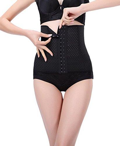 Bigood 1*Bauchband Gurt Gestaltung Gürtel gute für Abnahmen oder Nach Geburt Schwarz XL