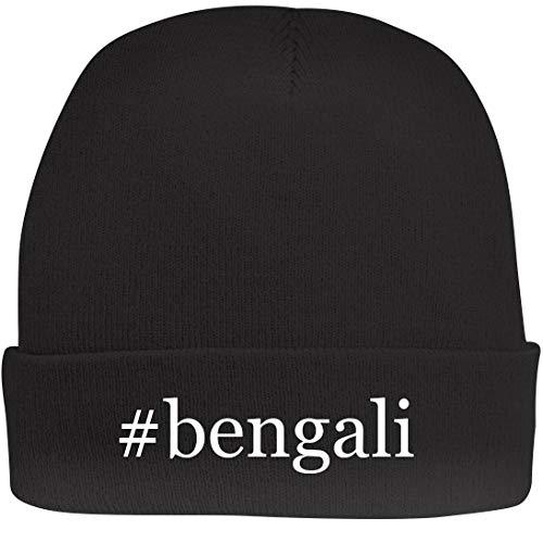 Shirt Me Up #Bengali - A Nice Hashtag Beanie Cap, Black, OSFA