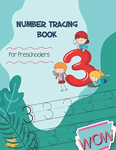 Number Tracing Book for Preschoolers: Learn Numbers 0-20 for kids ages 3-5, Coloring Cute, Number Writing Practice (Printable Tracing Worksheets For 3 Year Olds)