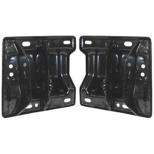 Parts N Go 2002-2005 Ram Pickup R1500 Front Bumper Bracket Driver & Passenger Side Left/Right Hand - 55077220AC, CH1067131