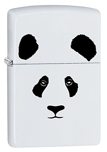 Zippo Panda White Matte Pocket Lighter