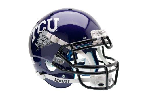 NCAA TCU Horned Frogs Authentic XP Football Helmet by Schutt