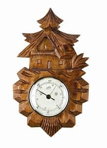 Barómetro casa en la selva negra de madera TU 95.00