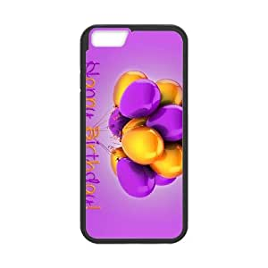 iPhone 6 Plus 5.5 Inch Cell Phone Case Black Purple Happy Personalized Phone Case Covers Clear CZOIEQWMXN4159