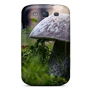 Ideal Jesussmars Case Cover For Galaxy S3(white Boletus), Protective Stylish Case