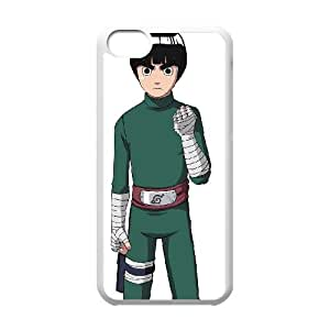 Rock Lee iphone 5C Cell Phone Case White Phone Accessories JV179227