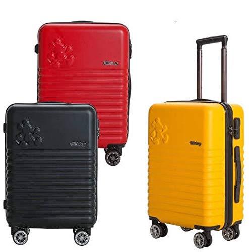H-OUTDOOR スーツケース キャリーケース 機内用 SUITCASE 旅行 出張 Wheelpak 20 inch RUSH(海外直送品)  イエロー B07PW9199S