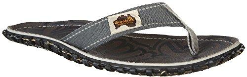 Grey Übergrößen in Zehentrenner Blau Gumbies Schuhe Cool Rosa Damen xwFfpYq8