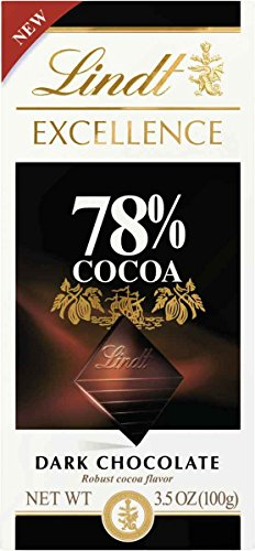 Lindt Excellence Dark Chocolate, 3.5-Ounce Packages (Pack of 12)