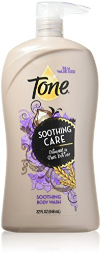 Tone Body Wash Soothing Oatmeal 32 Ounce Body Wash, Soothing