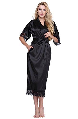 Long Black Lace Trim - 9