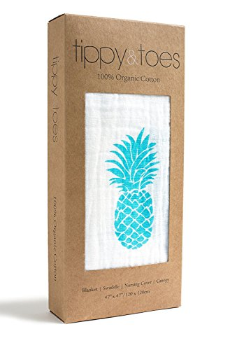 Tippy Toes Organic Turquoise Pineapple product image